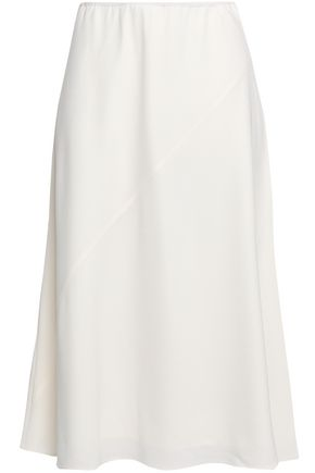 FILIPPA K Satin-crepe midi skirt