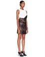 LANVIN Skirt Woman SHORT PYTHON JACQUARD SKIRT f