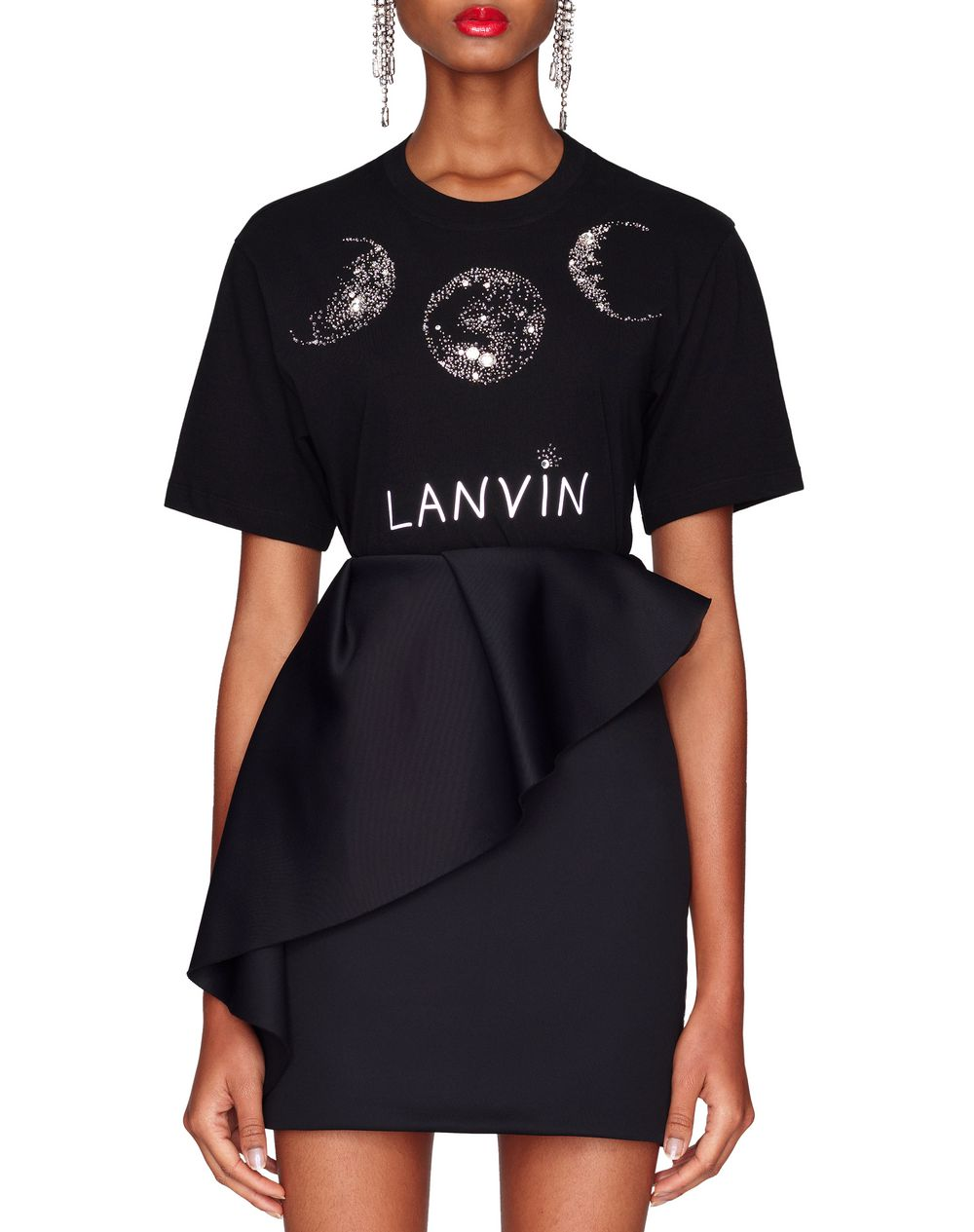 SHORT BLACK SKIRT - Lanvin