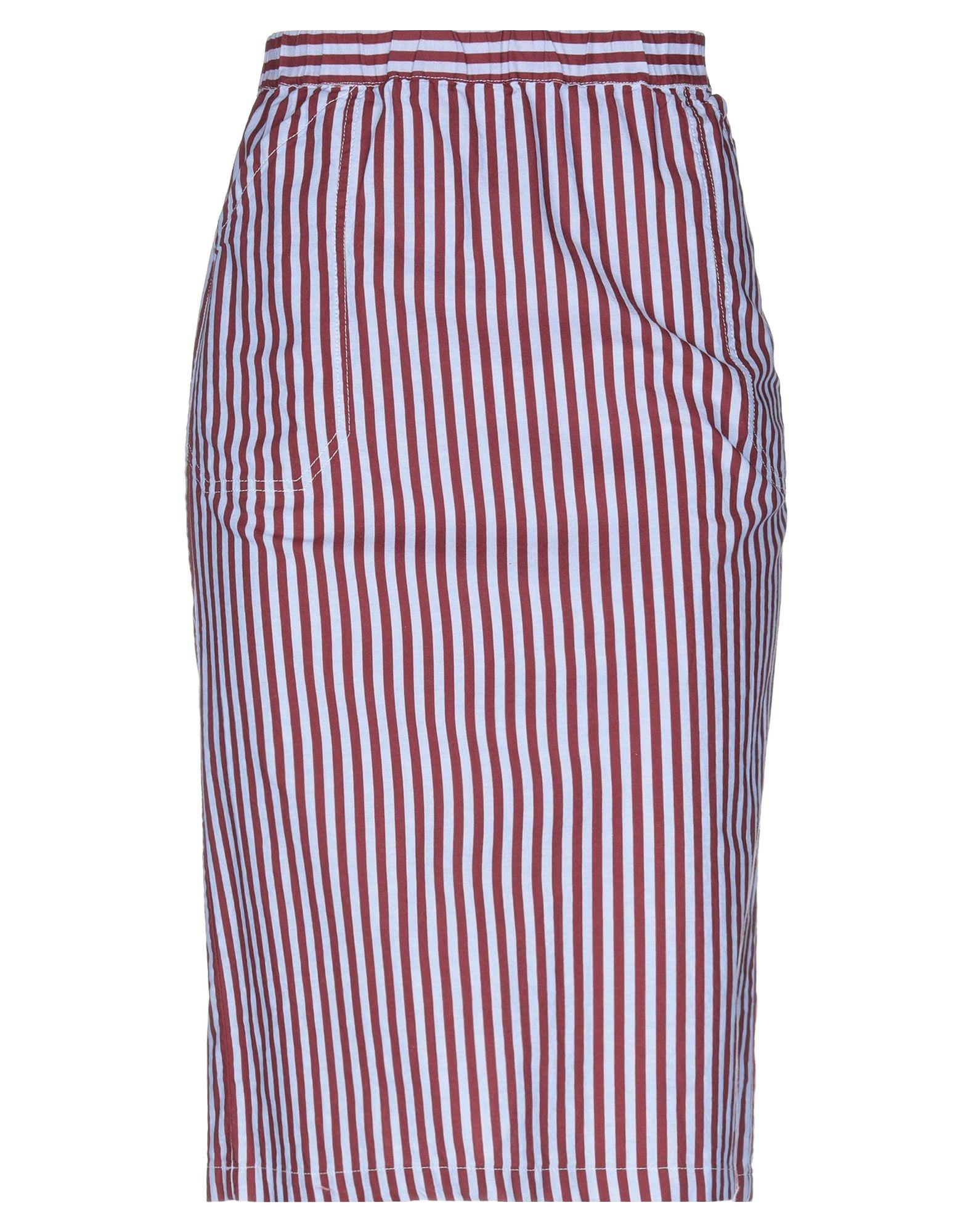 MASSIMO ALBA Юбка длиной 3/4 alpha massimo rebecchi платье длиной 3 4