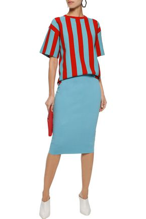 DIANE VON FURSTENBERG Stretch-knit pencil skirt