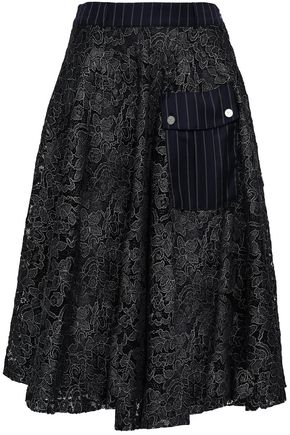 EACH X OTHER Embroidered tulle skirt