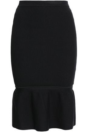 ALEXANDER WANG Ribbed-knit skirt