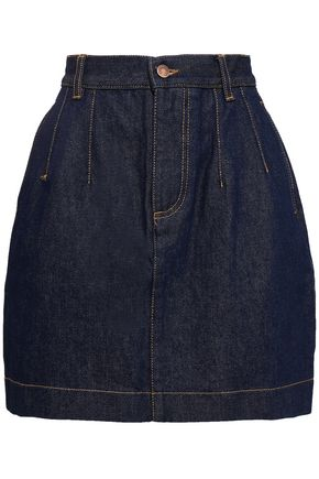 FIORUCCI Viki flared denim mini skirt