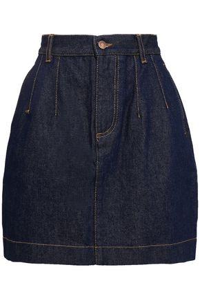 FIORUCCI Viki flared denim mini skirt