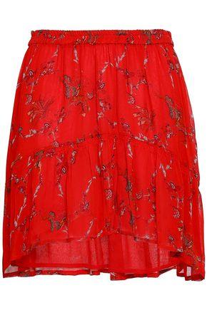 IRO Printed georgette mini skirt