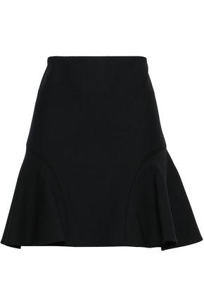 VICTORIA, VICTORIA BECKHAM Flared crepe mini skirt