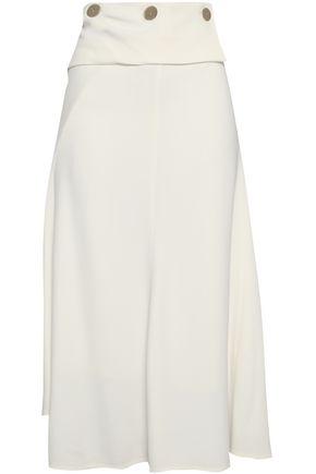 VICTORIA BECKHAM Asymmetric cady midi skirt