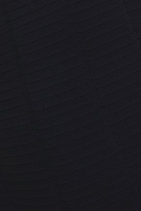 GIORGIO ARMANI Ribbed-knit pencil skirt