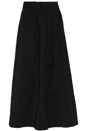 TIBI Flared woven midi skirt