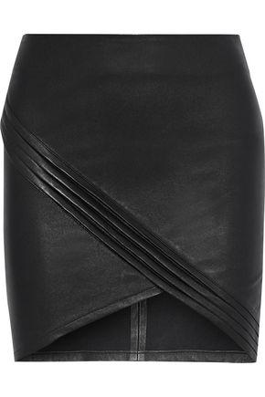 RTA Blossom stretch-leather mini skirt