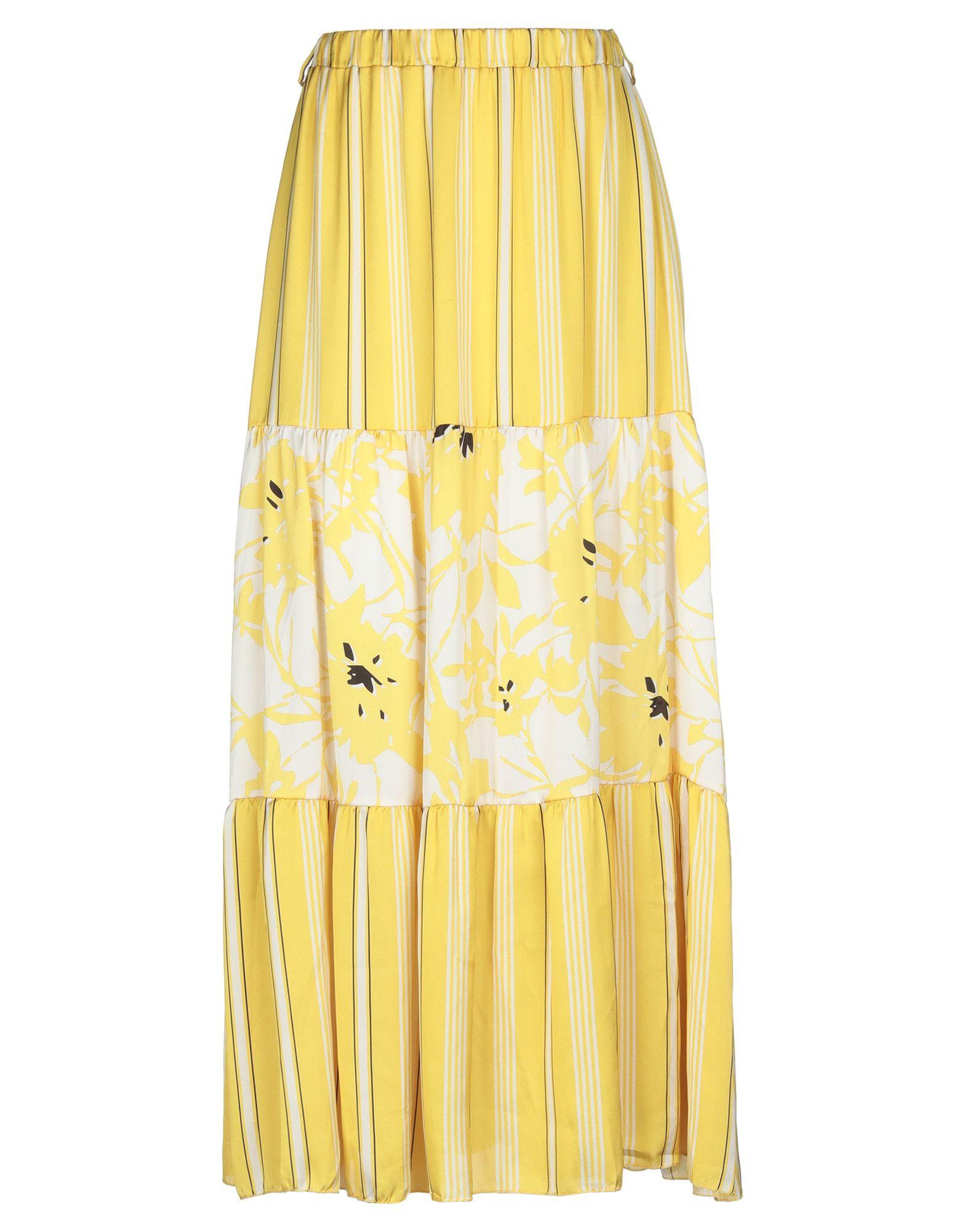 Фото - MICHELA MII Длинная юбка michela mii юбка длиной 3 4