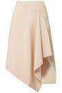 JONATHAN SIMKHAI Asymmetric stretch-cady midi skirt