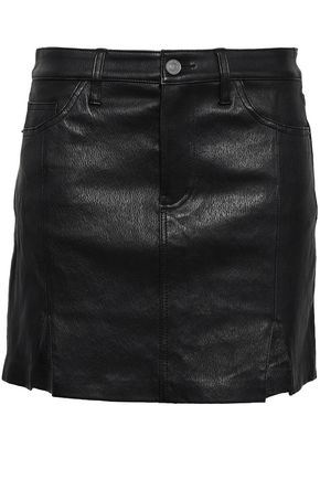 CURRENT/ELLIOTT Leather mini skirt