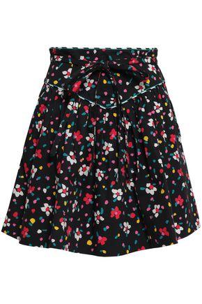 MARC JACOBS Floral-print stretch-cotton mini skirt
