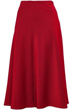 PIAZZA SEMPIONE Ruffled wool-blend jersey skirt