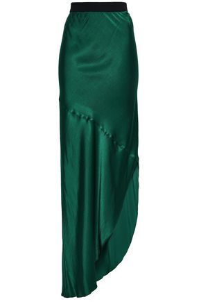 BY MALENE BIRGER Satin-crepe maxi skirt