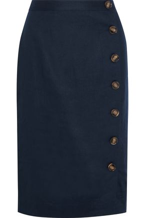 Louisa Linen Skirt by Iris & Ink