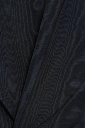 ADAM LIPPES Cotton-blend moire mini skirt