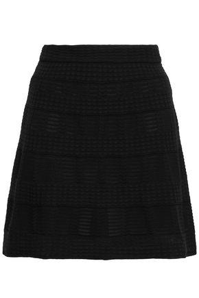 M MISSONI Flared crochet-knit mini skirt