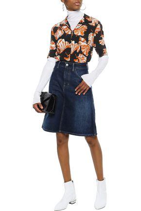 ACNE STUDIOS Shadow faded denim skirt
