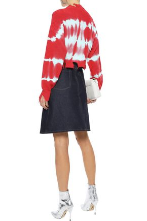 ACNE STUDIOS Shadow flared denim skirt