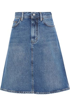ACNE STUDIOS Shadow faded denim skirt