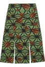 STELLA JEAN Printed cotton-twill mini skirt