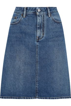 ACNE STUDIOS Flared denim skirt