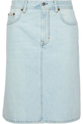 ACNE STUDIOS Shadow denim skirt
