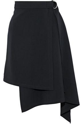ROBERT RODRIGUEZ Asymmetric stretch-cady wrap skirt