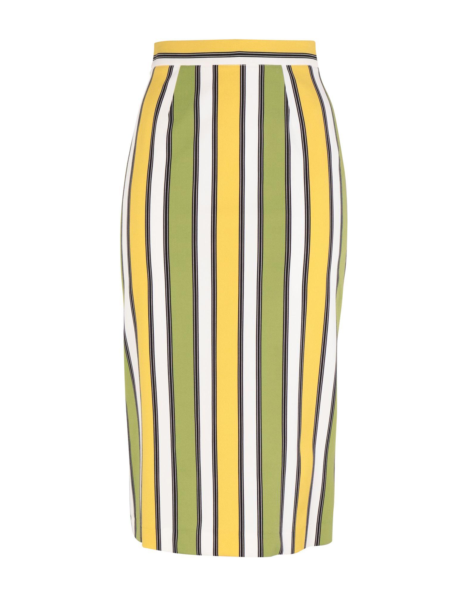 《期間限定セール開催中!》MARIANNA CIMINI レディース 7分丈スカート グリーン 38 レーヨン 97% / ポリウレタン 3%