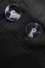 CHRISTOPHER ESBER Button-detailed twill midi skirt