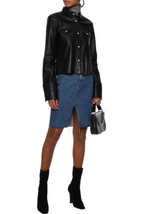 RAG & BONE Suji denim mini skirt