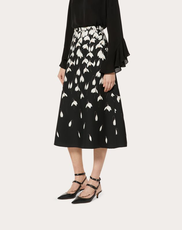 Crêpe Couture Snowdrop Skirt