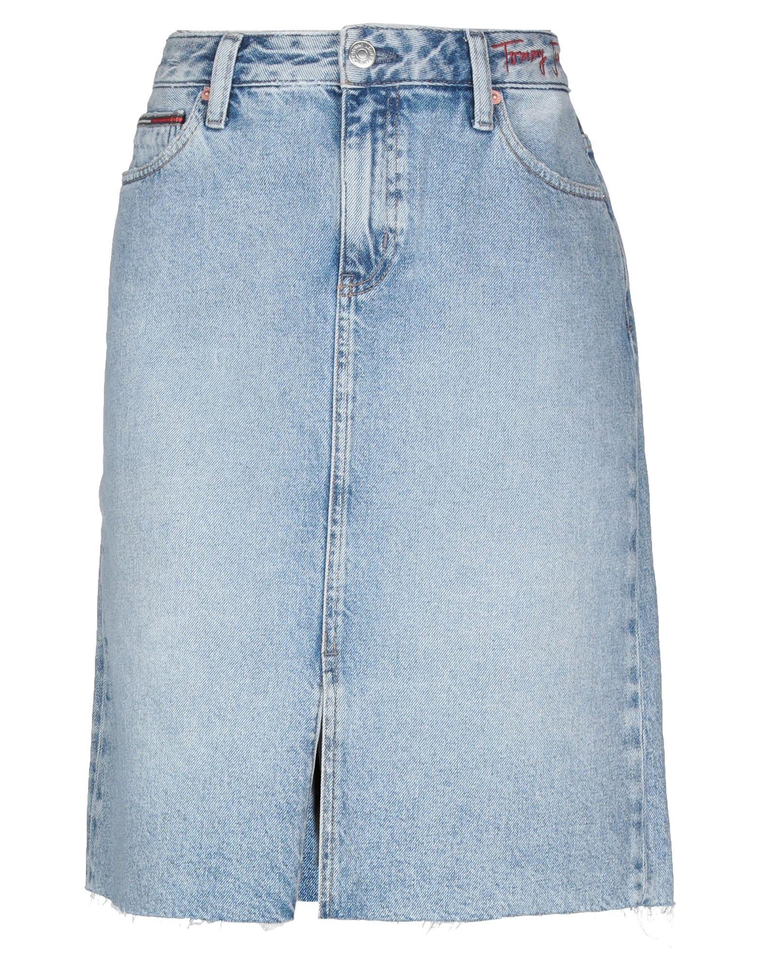 TOMMY JEANS Джинсовая юбка юбка tommy jeans tommy jeans to052ewziu80