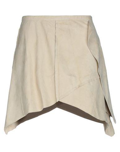 Купить Мини-юбка бежевого цвета
