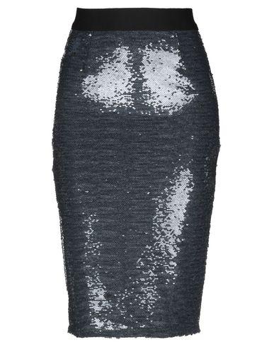 Фото - Юбку до колена от MARIA DI SOLE цвет стальной серый