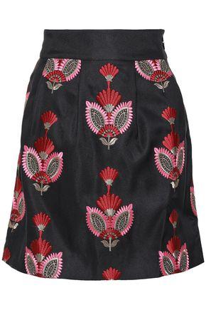 ANTIK BATIK Carmo jacquard mini skirt
