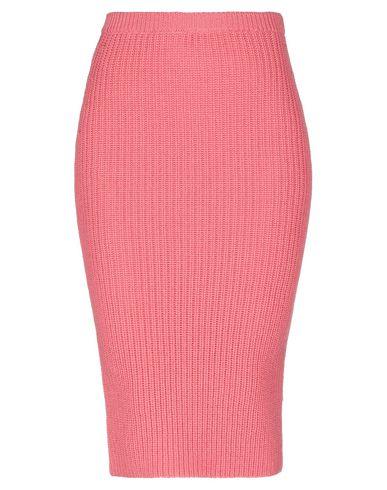 Фото - Юбку длиной 3/4 лососево-розового цвета