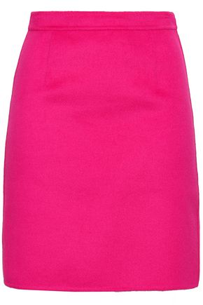 MICHAEL KORS COLLECTION Wool-blend mini skirt