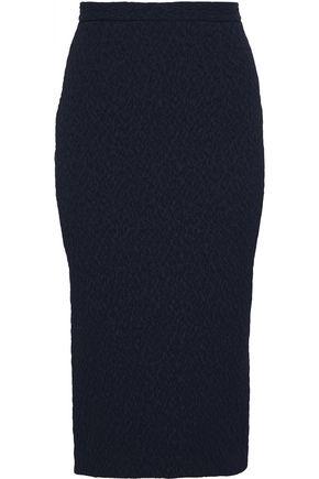 ROLAND MOURET Arreton cloqué pencil skirt