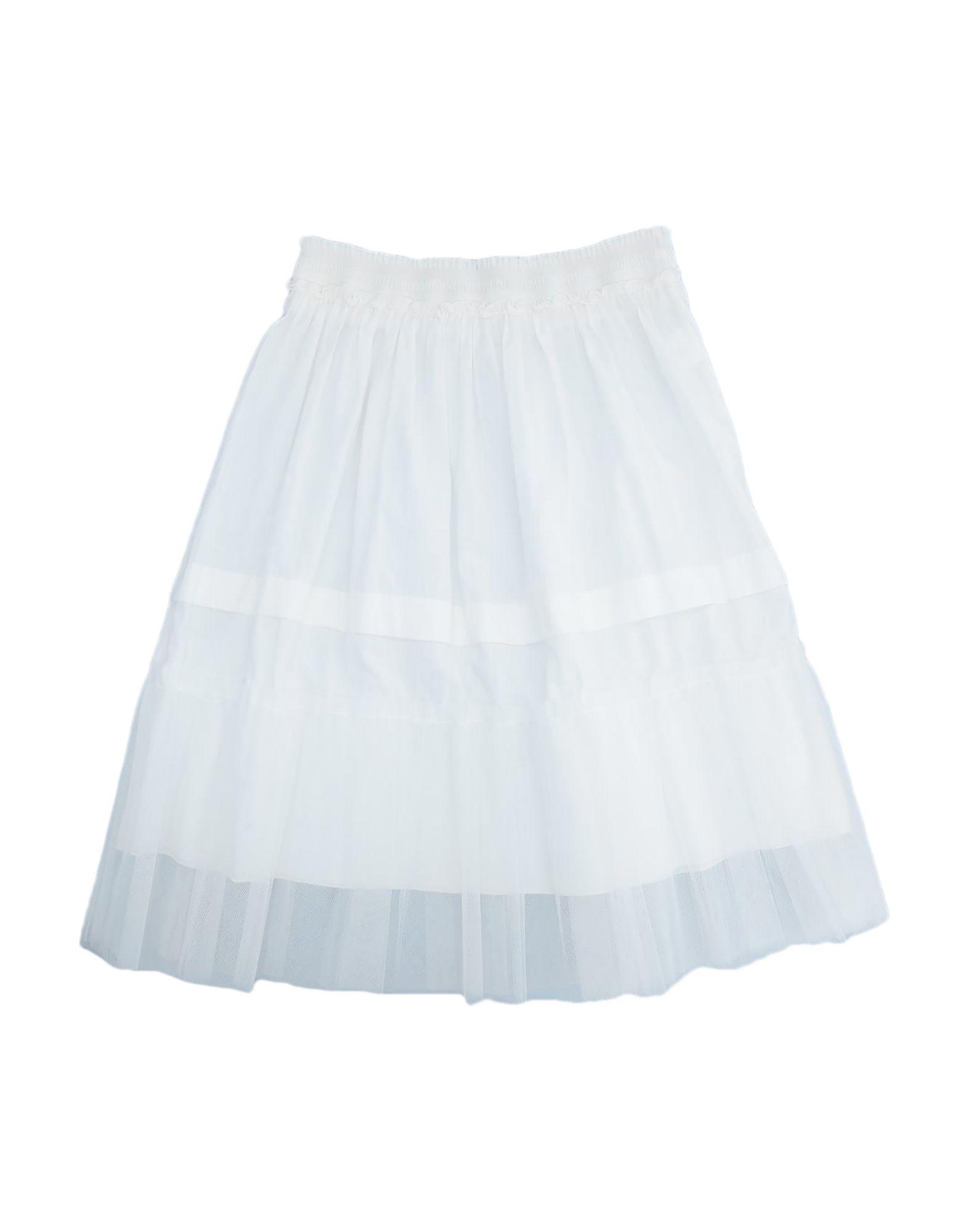 《セール開催中》MONDO PICCINO ガールズ 9-16 歳 キッズスカート ホワイト 12 コットン 100%