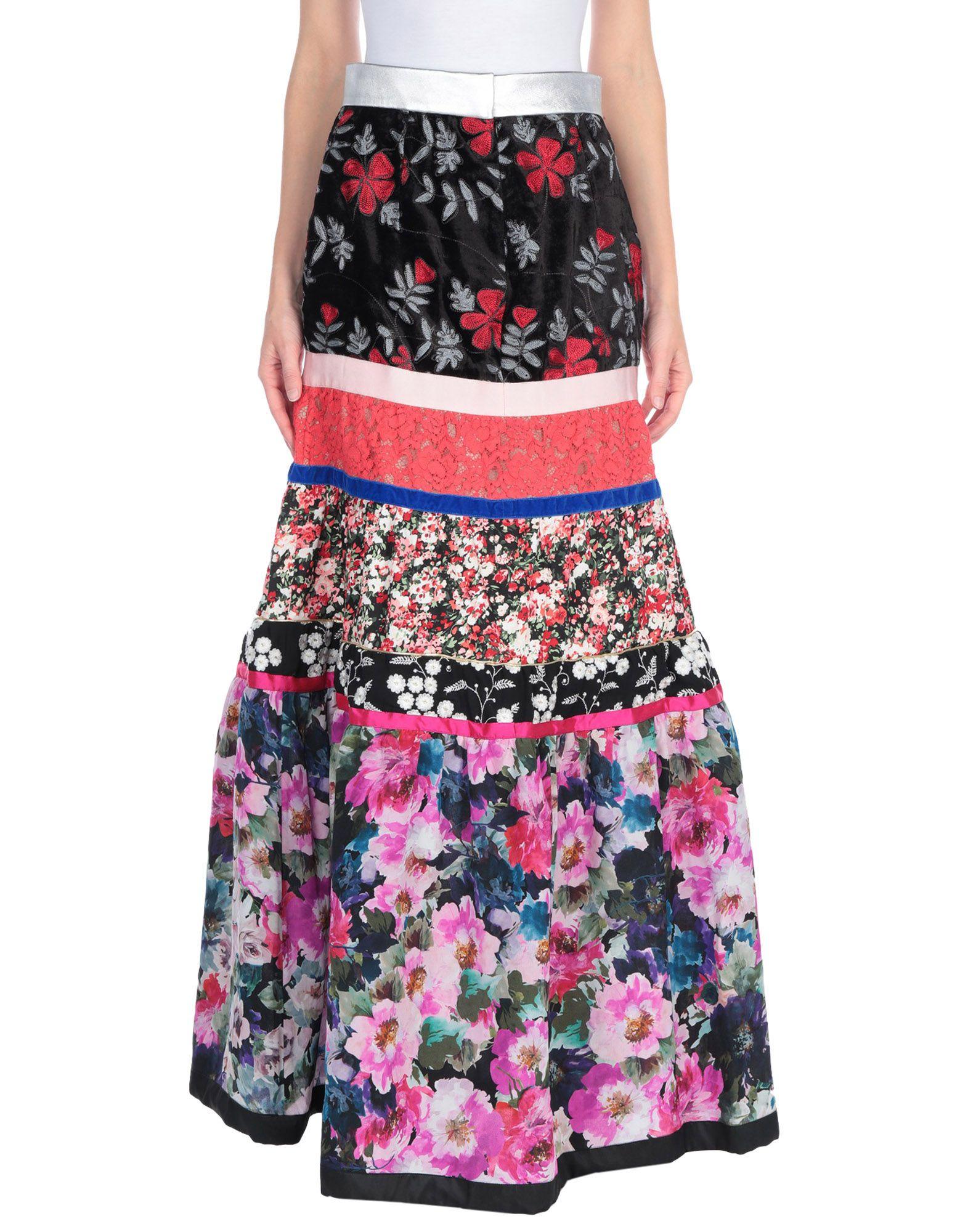 купить RONALD VAN DER KEMP Длинная юбка по цене 34450 рублей