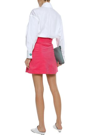 PAPER London Wallace denim mini skirt