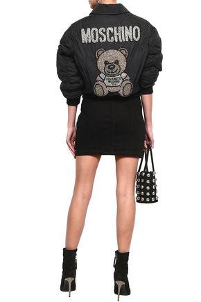 MOSCHINO Denim mini skirt