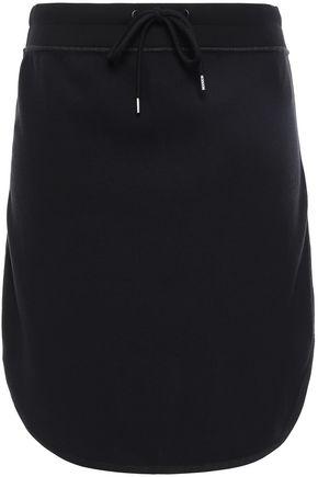 JAMES PERSE Cotton-blend fleece mini skirt