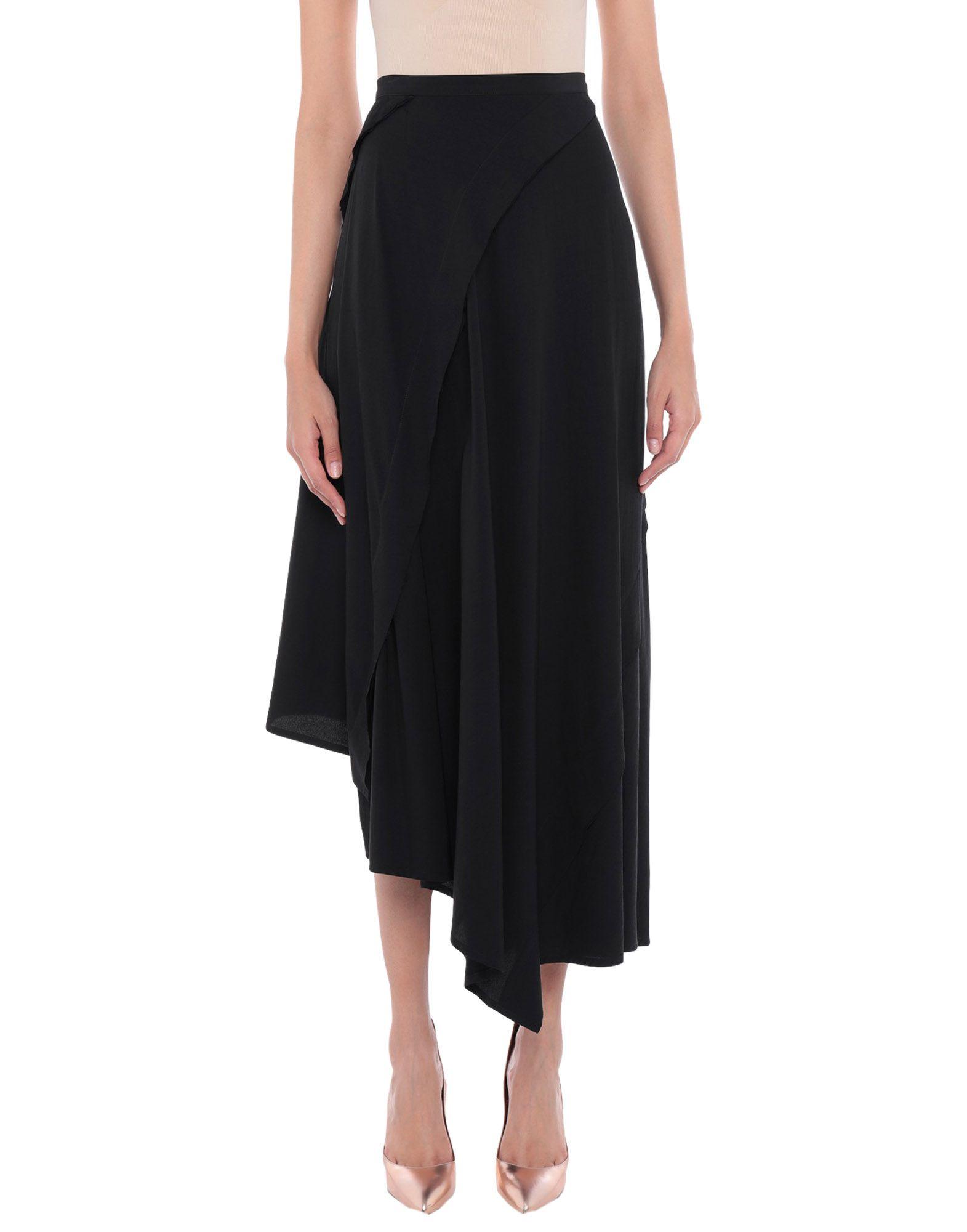 YOHJI YAMAMOTO Длинная юбка yohji yamamoto юбка до колена