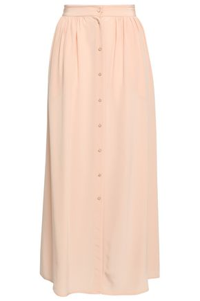 VANESSA BRUNO Silk maxi skirt