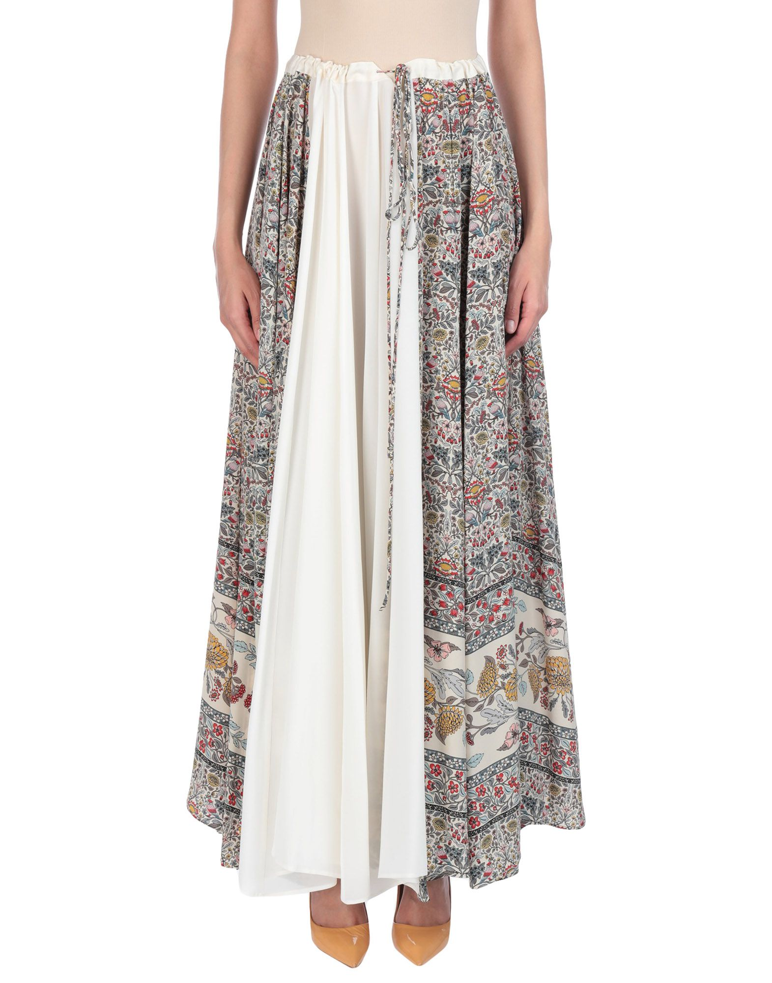 VERONIQUE BRANQUINHO Длинная юбка veronique branquinho юбка длиной 3 4